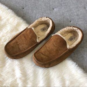 Uggs ascot driving loafer/ slipper chestnut sz.11